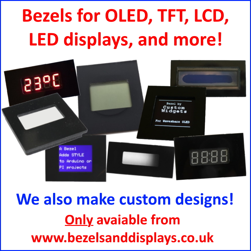Bezels and Displays